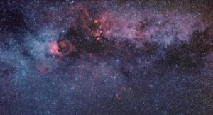 NGC 7000, NGC 6974, IC 1318 + Infrared